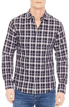 Sandro Tartan Slim Fit Button-Down Shirt