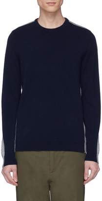 Theory 'Evers' colourblock cashmere sweater