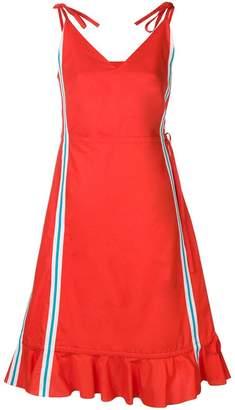 Kenzo ruffled mid-length dress