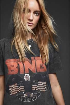 Anine Bing Vintage Bing Tee - Black