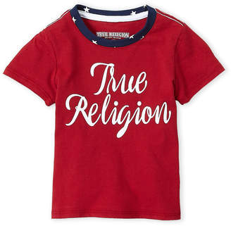 True Religion Girls 4-6x) Red Graphic Tee