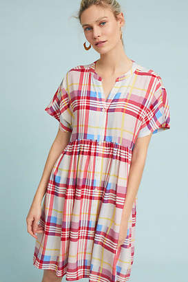 Tylho Plaid Tunic Dress