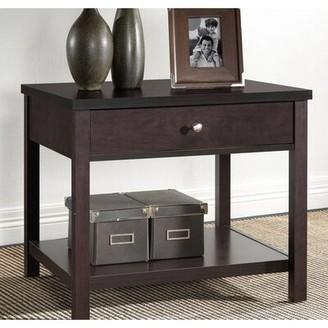 Latitude Run Funchess Modern End Table with Storage Latitude Run
