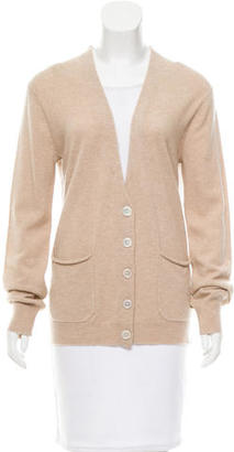 Inhabit Rib Knit Cashmere Cardigan w/ Tags $125 thestylecure.com