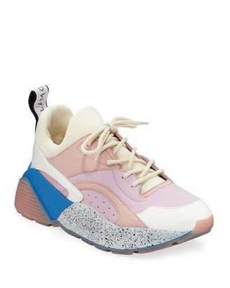 Stella McCartney Eclypse Colorblock Lace-Up Sneakers