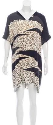 Diane von Furstenberg Oversize Silk Dress