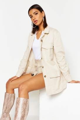 boohoo Canvas Utility jacket