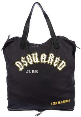 DSQUARED2 Packable Zip Tote