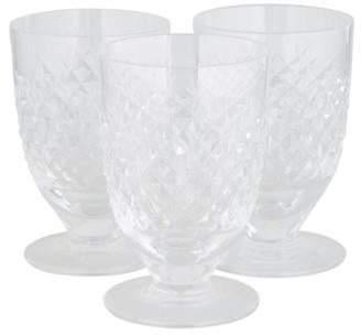 Waterford Set of 3 Crystal Tumblers Set of 3 Crystal Tumblers