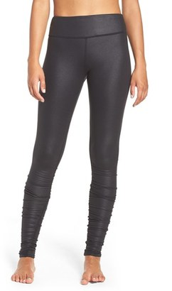 Women's Alo Idol Ruched Leggings $84 thestylecure.com