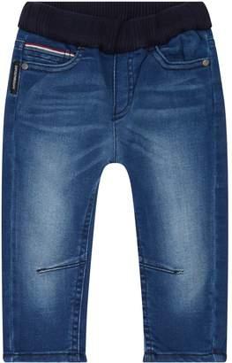 Emporio Armani Ribbed Waist Jeans