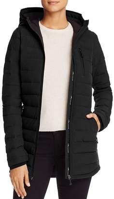 Moose Knuckles Lightweight Hooded Down Coat