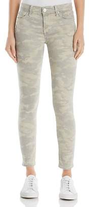 Hudson Nico Mid Rise Ankle Super Skinny Jeans in Army Camo