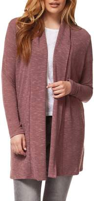 Dex Open-Front Long-Sleeve Cardigan
