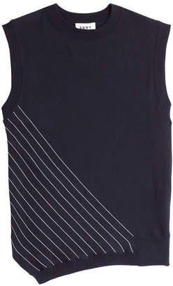 DKNY Sleeveless Cotton Top