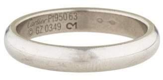 Cartier Platinum 4mm Classic Wedding Band