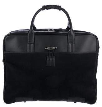 Montblanc Leather-Trimmed Carry-On