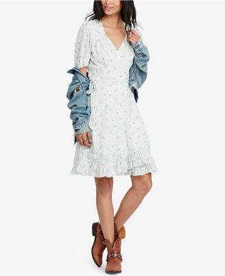 Denim & Supply Ralph Lauren Cotton Wrap Dress $125 thestylecure.com