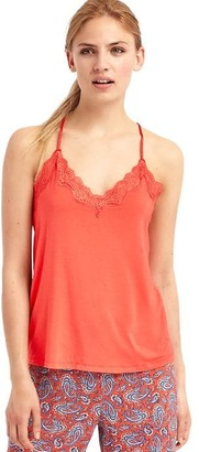 Lace-trim cami $22.95 thestylecure.com