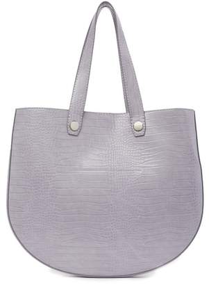 French Connection Bobby Embossed Slim Tote Bag