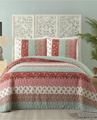 Jessica Simpson Caledonia Cotton Full/Queen Quilt Bedding