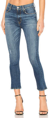 Hudson Jeans Harper Crop Baby Kick Flare $210 thestylecure.com