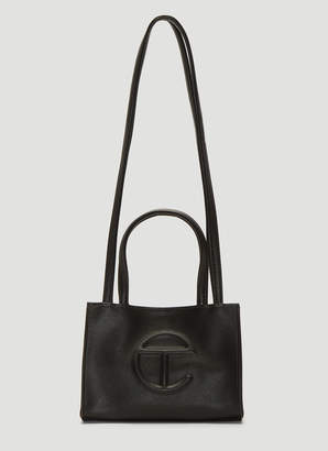 Telfar Small Shopping Bag in Black