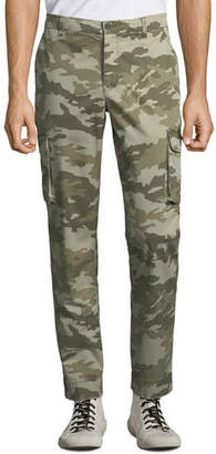 ATM Anthony Thomas Melillo Men's Stretch Twill Cargo Pants