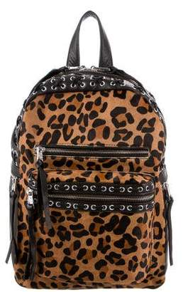Ash Billy Animal-Printed Laced Backpack