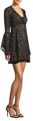 Nanette Lepore Samba Silk Babydoll Dress