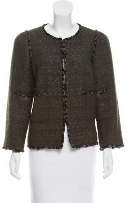 Chanel Paris-Shanghai Wool Jacket