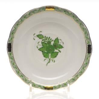 Herend Chinese Bouquet Tea Saucer, Green