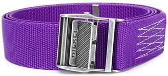Diesel logo belt