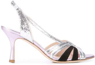 Couture Gia textured sandals