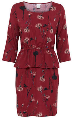 Ichi Floral Print Sheath Dress