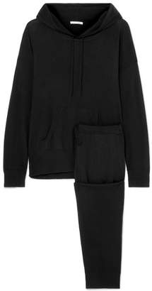 Skin Malika Wool-blend Sweatshirt And Track Pants Set
