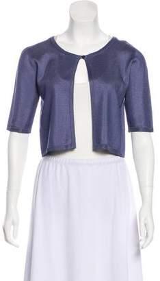 Max Mara Short Sleeve Knit Cardigan