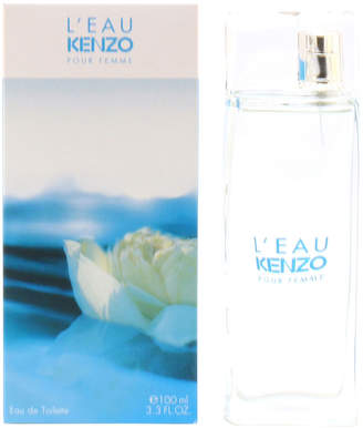 Kenzo L'Eau Pour Femme Eau de Toilette Spray, 3.3 oz./ 100 mL