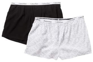 Calvin Klein Carousel Sleep Boyshort - Pack of 2