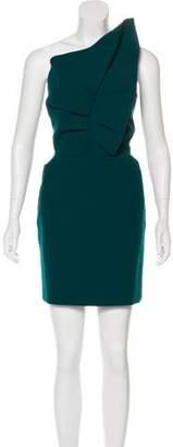 Roland Mouret Structured One-Shoulder Dress