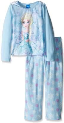 Disney Girls' Big Girls' Frozen Elsa Fleece 2-Piece Pajama Set