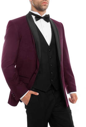 TAZIO Men's 3-PC Slim Fit Tuxedo - Big & Tall