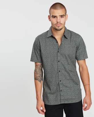 Hurley Ditsy Spotty Woven SS Shirt