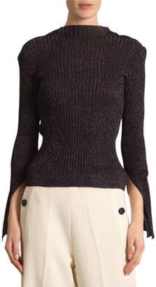Roland Mouret Kiruna Shimmery Fine Wool Sweater
