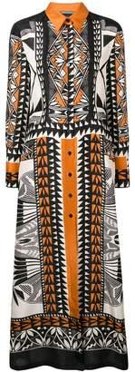 Alberta Ferretti maxi shirt dress