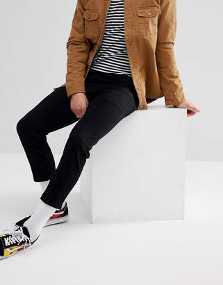 Asos DESIGN Skinny Jeans In Black Super Crop