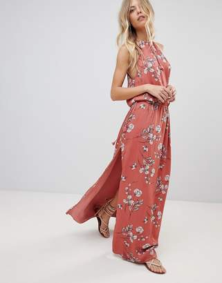The Jetset Diaries Oasis Floral Maxi Dress