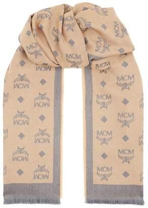 MCM Visetos Wool Scarf