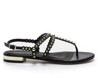 Cosmo Paris COSMOPARIS Foli Flat Leather Sandals