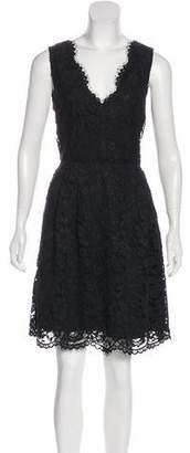 DKNY Sleeveless Lace Dress